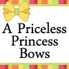 A Priceless Princess Hair Bows Headbands Flower clips